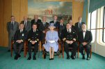 HM QEII and QE2 Captains